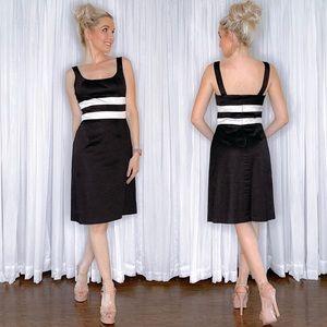Black White Stripe Sundress